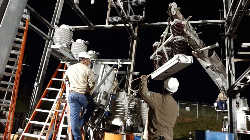 Noticia - Personal de ETESA garantiza el sistema de transporte de Energía